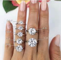 wedding ring size 25 best ideas about sizes on 2 carat