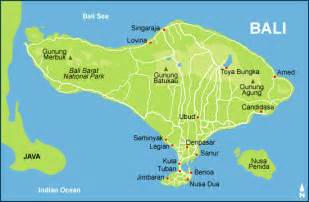 Bali World Map by Bali Map And Travel Map