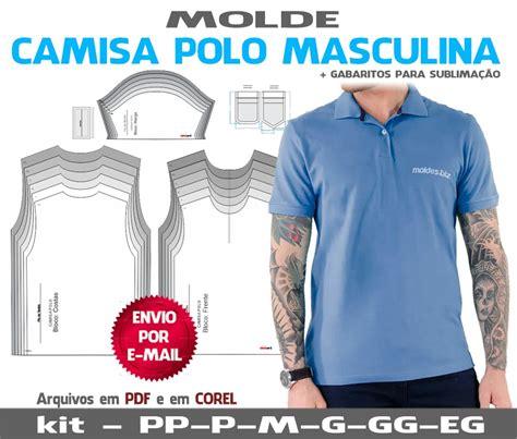 moldes corte costura gratis camisa polo masculinas moldes curso corte e costura r