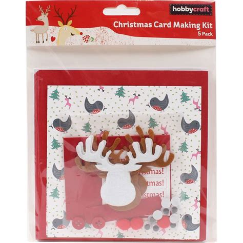 Papercraft Scrapbooking - hobbycraft card kit assorted designs