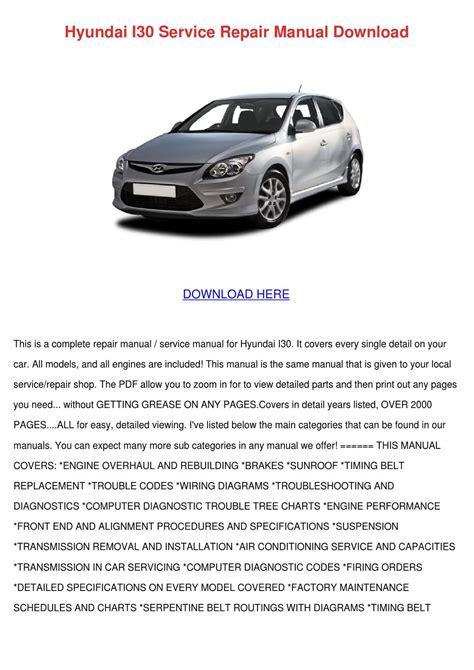 repair manual service manual infiniti i30 pdf download autos post hyundai i30 service repair manual download by katrina scholle issuu