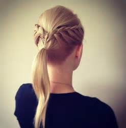 hair pony for hair 14 braided ponytail hairstyles new ways to style a braid