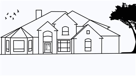 Drawing House by How To Draw Houses Step By Step