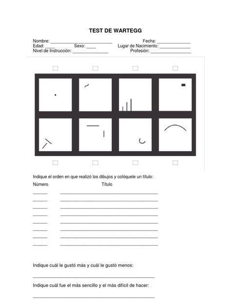 test pdf formato wartegg pdf