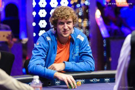 "roy daoud bubbles 2015 wsop main event, calls it ""the"
