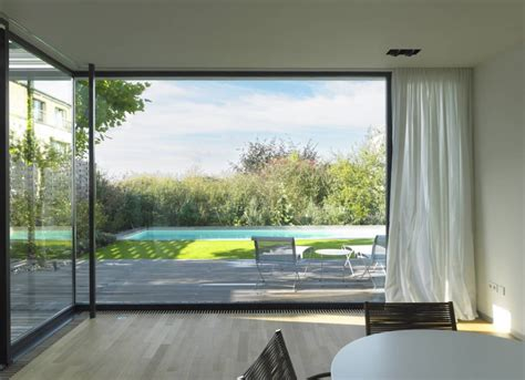 modern windows top low energy house design by steinmetz de meyer