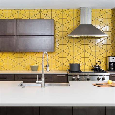 yellow kitchens yellow walls and brown tile bathrooms on 27 yellow kitchen decor ideas to raise your mood digsdigs