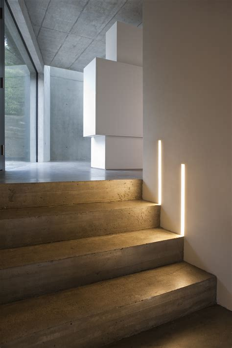 lights on stairs modern lighting ideas that turn the staircase into a