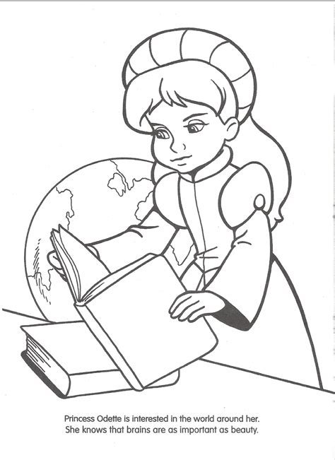 image swan princess official coloring page 7 png the