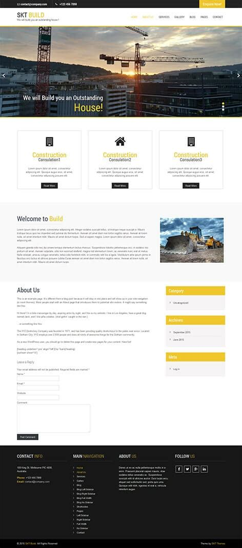 wordpress themes free download with slider responsive themes21 free wordpress themes with slider download demo