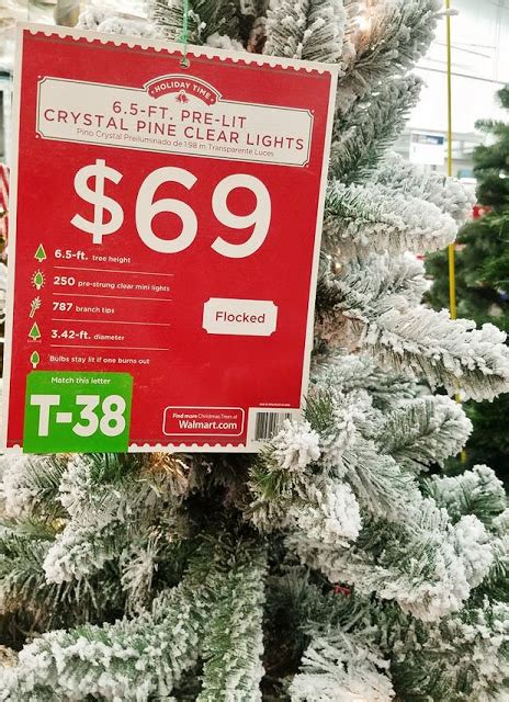 walmartcom t 38 artificial christmas trees 6ft 7ft the quaint sanctuary best affordable flocked trees from walmart