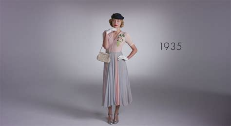 100 years of fashion watch 100 years of fashion in under 2 minutes