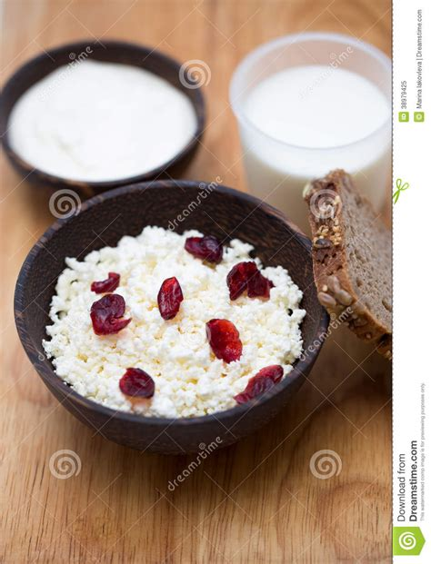 Cottage Cheese From Sour Milk by Milk Sour Cottage Cheese Stock Photo Image 38979425