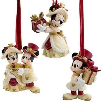 disney 4pc ornament set best minnie mouse ornament products on wanelo