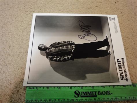 Who Is Signed To Row Records Snoop Dogg 1993 Photo Signed Autograph Row Records Guaranteed Autographs