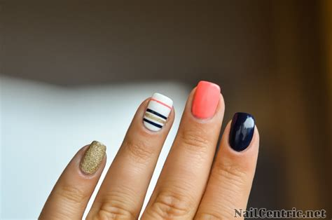 nail art tutorial videos dailymotion navy nail art with striping tape tutorial