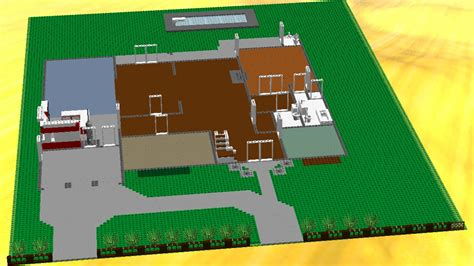 lego house floor plan cool house plans lego model in progress series by xeir