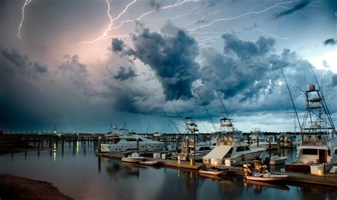 conch house marina panoramio photo of lightning over the conch house marina no 2