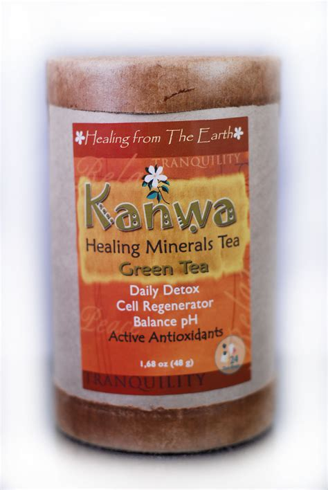 Whole Detox Tea by Zion Health Announces Ancient Remedy Kanwa Herbal