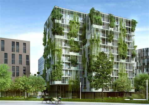 viertel zwei urbanes wohnen im gr 252 nen architektur