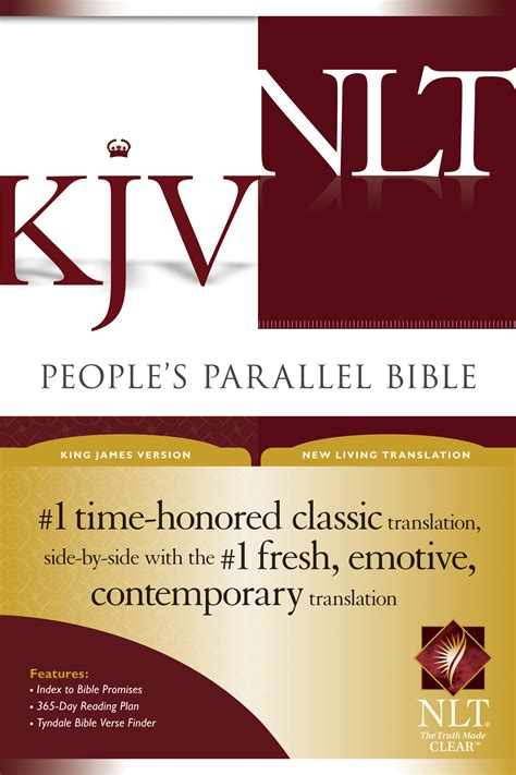 bilingual bible pr nlt ntv parallel bible tyndale people s parallel bible kjv nlt