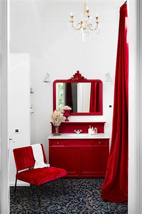 red white bathroom poppy red and white bathroom february 2013 color of the