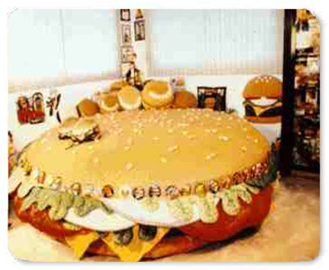 cheeseburger bed the cheeseburger water bed burger web