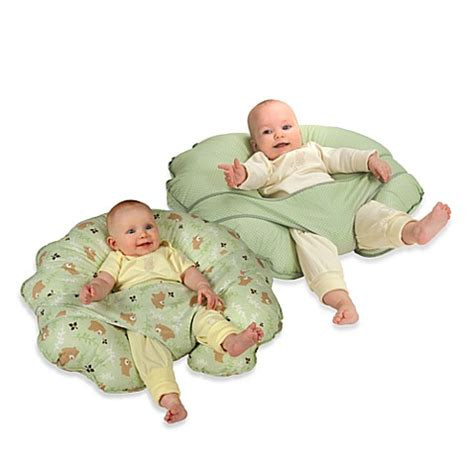 pillow for breastfeeding in bed leachco 174 cuddle u original nursing pillow and support system www bedbathandbeyond com