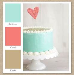 what colors go with seafoam green seafoam mint green coral pink and color palette