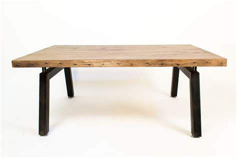 oak table reclaimed oak coffee table omero home