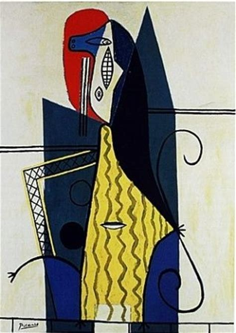 picasso woman in an armchair armchairs pablo picasso and women s on pinterest