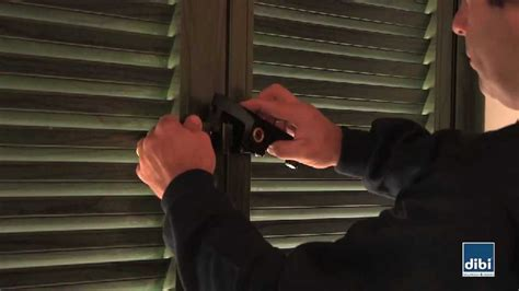 serrature per persiane montaggio superblock di bi porte blindate