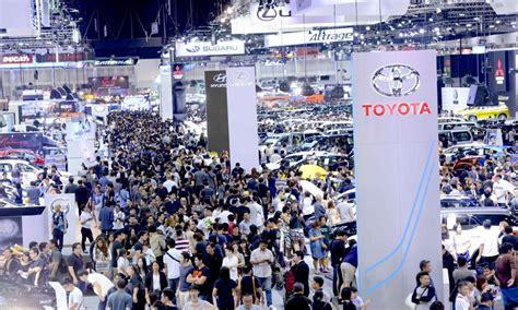 show international expo thailand international motor show expo 2016