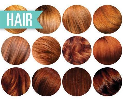 ginger hair chart natural red hair color chart google search hair ideas