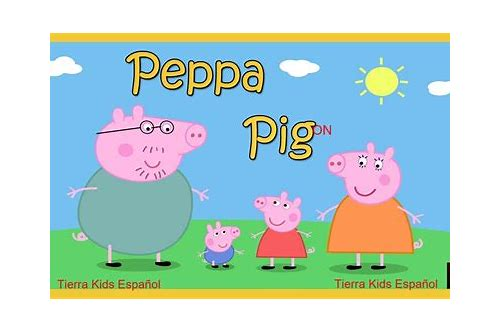 peppa pig latino hd descargar