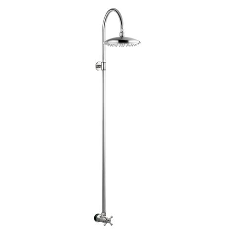 outdoor shower fixtures outdoor shower company stainless steel wall mount shower