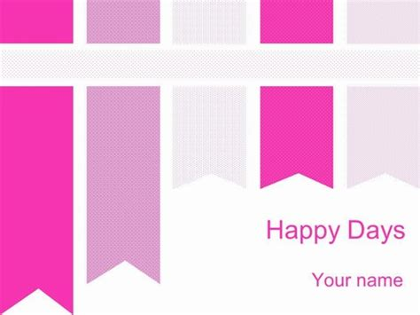 template ppt pink free pink ribbons