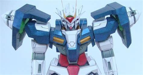 Voltes V Papercraft - gundam gn 0000 00 papercraft gundam anime papercrafts