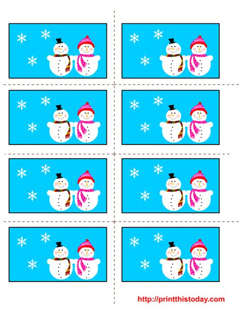 printable winter gift tags free printable winter labels