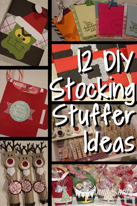 Handmade Stuffers - 12 diy stuffer ideas scrapping sting and stuff