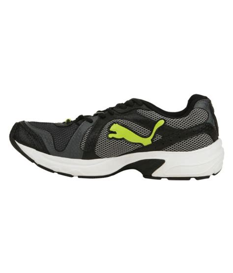 buy black lime green running shoes for