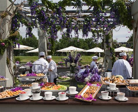how to set the wedding buffet weddingelation