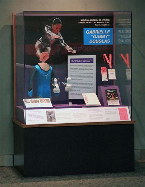 gymnast gabrielle douglas donates olympic items to smithsonian cbs dc artifact case gabrielle 226 œgabby 226 douglas american