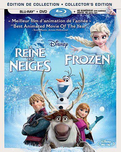 Dvd Frozen Imported la reine des neiges frozen dvd
