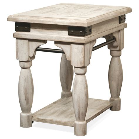 chairside table by drive riverside furniture regan chairside table with metal