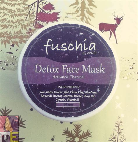 Detox Mud Mask Review by Fuschia Detox Mask Activated Charcoal Review