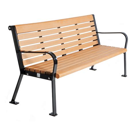 plastic benches recycled plastic bench cab 801 canaan