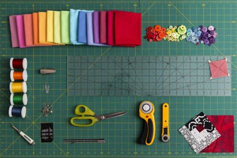 Patchwork Equipment - how to choose the best tools for beginning quilters