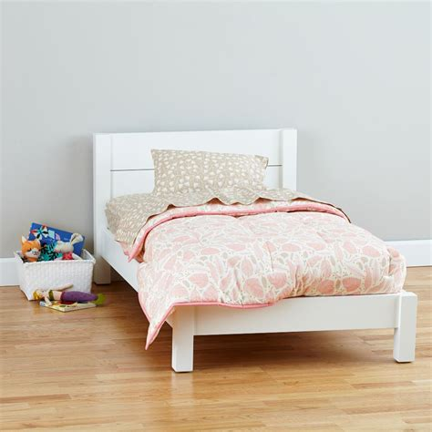 baby toddler beds uptown toddler bed white the land of nod