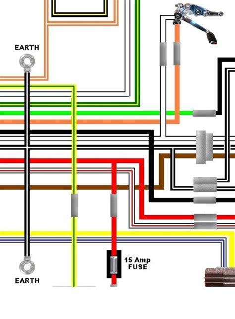 suzuki gsl  usa spec colour electrical wiring diagram
